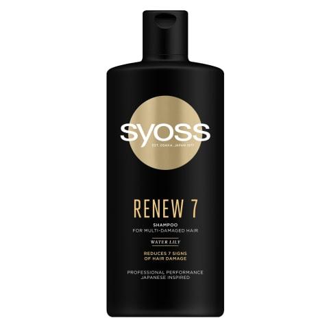 Šampūns Syoss Renew 7 440ml
