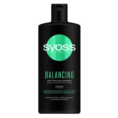 Šampūns Syoss Balancing 440ml