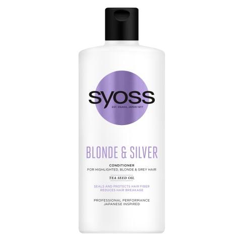 Balzams Syoss Blonde & Silever 440ml