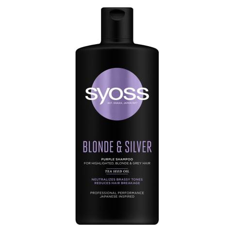 Šampūns Syoss Blonde & Silver 440ml