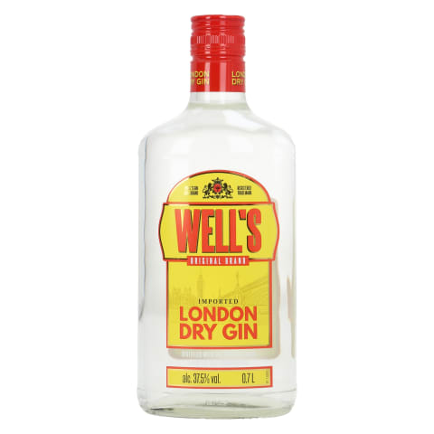 Gin Well's London Dry 37,5%vol 0,7l