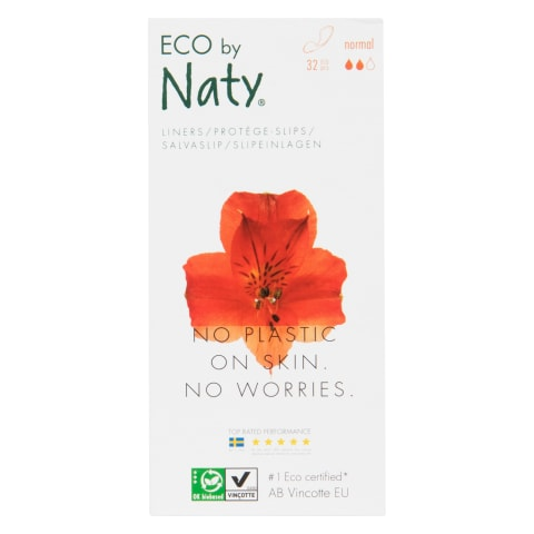 Higien. įklotai ECO by Naty Normal, 32