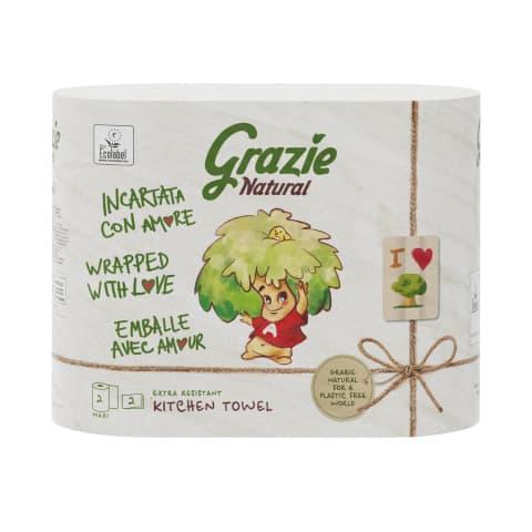 Papīra dvielis Grazie Nat