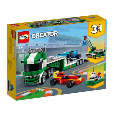 Konstr.Sacīkšu auto pārvadātājs LEGO