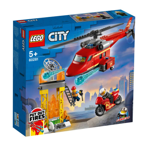 Konstr.Ugunsdzēsēju helikopters LEGO