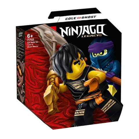 Konstr.Episkā kauja:Cole pret rēgu LEGO