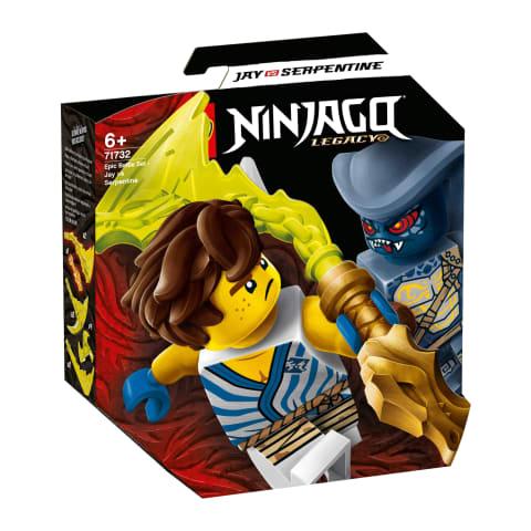 Kons.Episkā kauja:Jay v. Serpentine LEGO