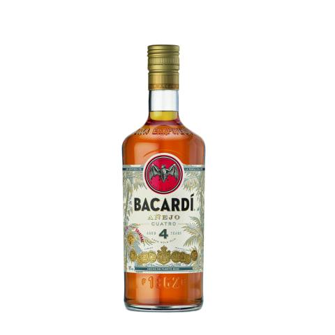 Romas BACARDI ANEJO QUATRO, 40 %, 0,7l