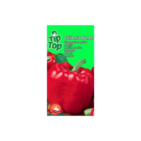 Paprika California Wonder Tip Top