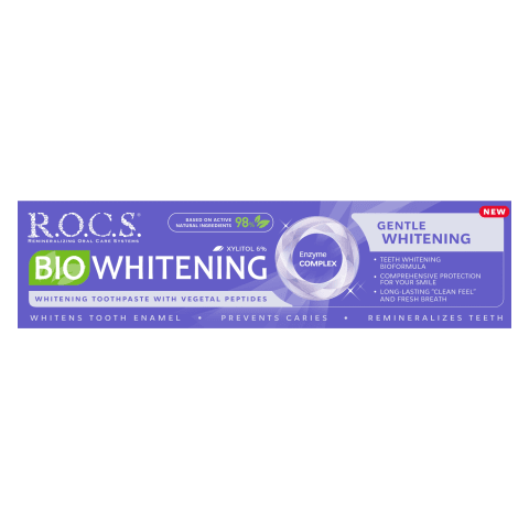 Zobu pasta R.O.C.S. Bio Whitening,94g
