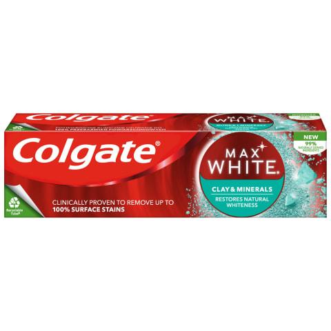 Dantų pasta COLGATE WHITE CLAY&MINER, 75ml