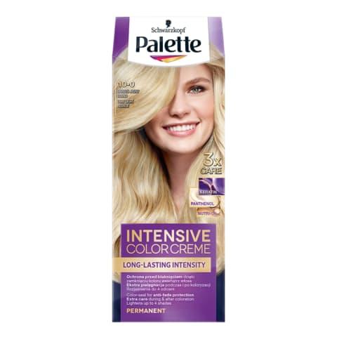 Plaukų dažai 10-0 šviesi PALETTE
