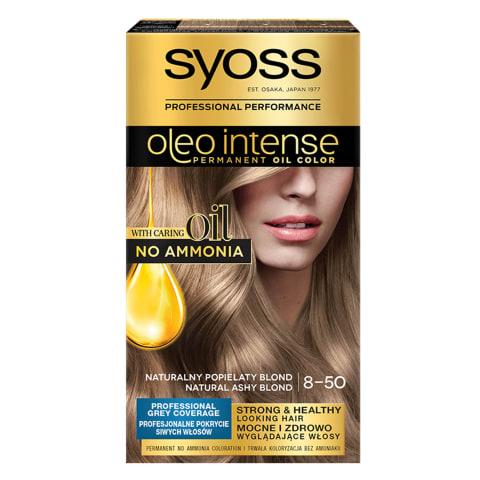 Plaukų dažai SYOSS 8-50 ant. pelen. švies.