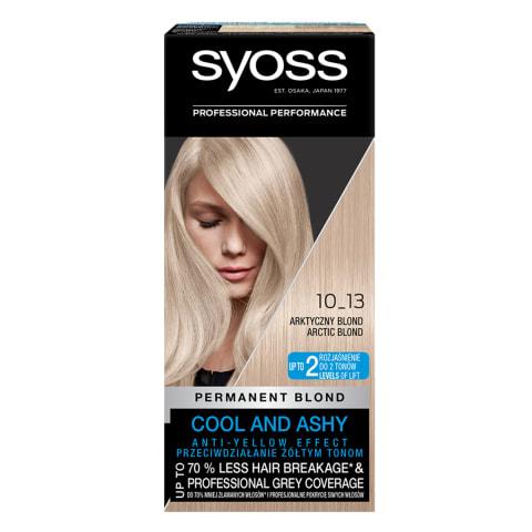 Plaukų dažai SYOSS COLOR, spalva 10-13