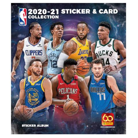 NBA Basketbola albums 20/21