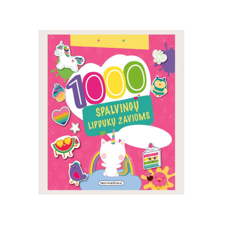 Knyga 1000 LIPDUKŲ MERGAITĖMS