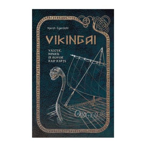 Knyga VIKINGAI