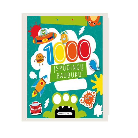 Knyga 1000 BAUBUKŲ LIPDUKŲ