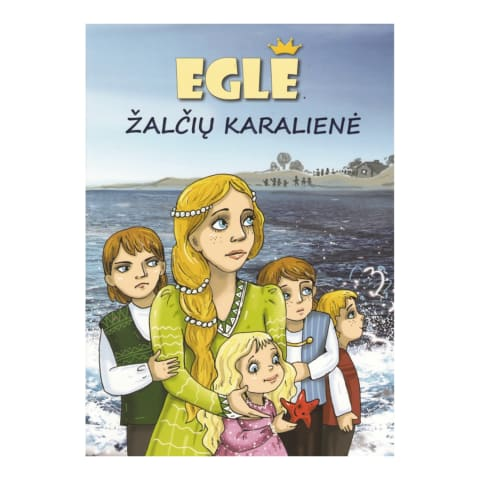 Knyga EGLĖ ŽALČIŲ KARALIENĖ
