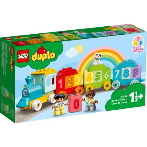 Konstr.Lego Ciparu vilciens 10954