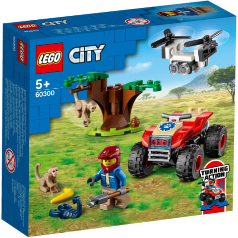 Konstr.Lego Dzīvnieku kvadricikls 60300