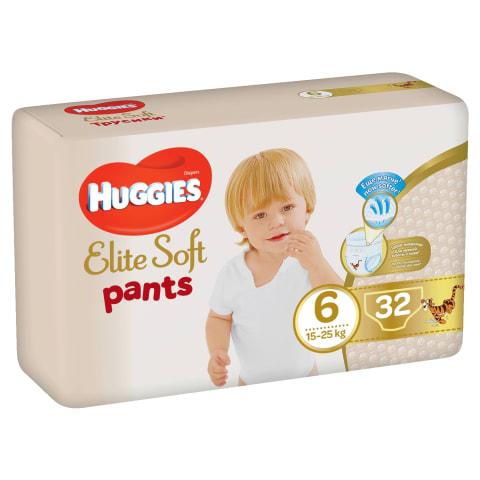 Sausk. HUGGIES ELITE PANTS 16-22kg 32vnt