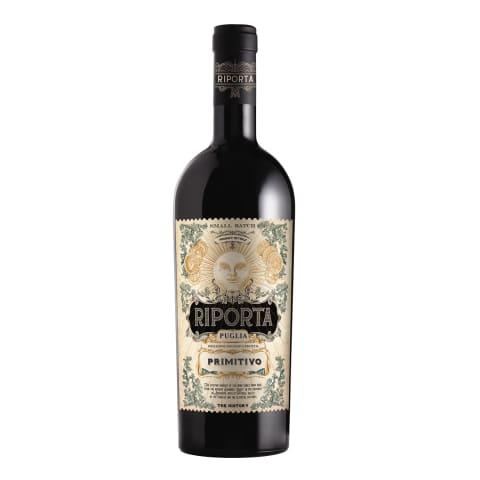 Raud.vynas RIPORTA PRIMITIVO PUGLIA,14%,0,75l