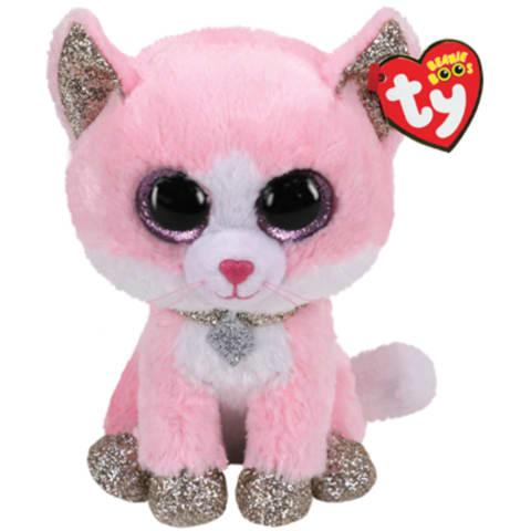 Pehmik TY Fiona roosa kass 15,5cm