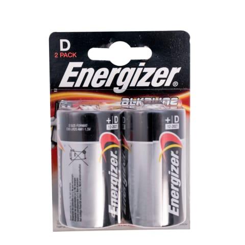 Baterijas Energizer Alkaline Power D x 2