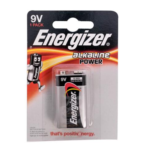 Baterijas Energizer Alkaline Power 9V x1