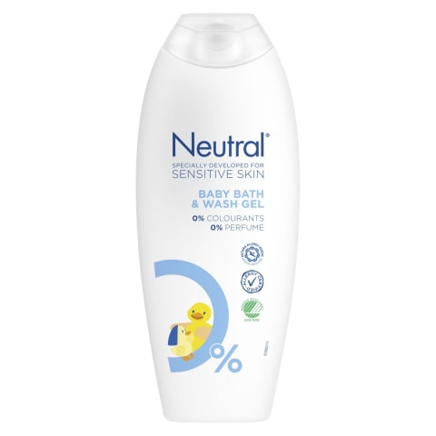 Dušo želė kūdikiams NEUTRAL BABY, 250 ml