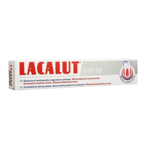 Dantų pasta LACALUT WHITE, 75 ml