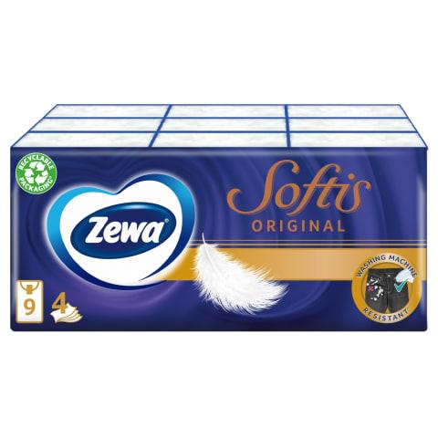 Taskurätikud Zewa Softis 5x9tk