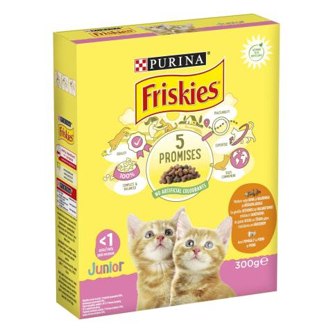 Kassitoit Friskies Junior 300 g