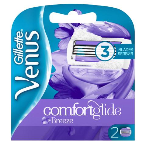Skūšanās kasetes Gillette Venus Breeze 2 gab.