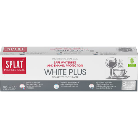 Zobu pasta Splat White Plus 100ml