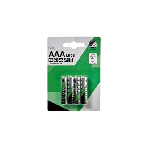 Baterijas ICA lr03 AAA x4