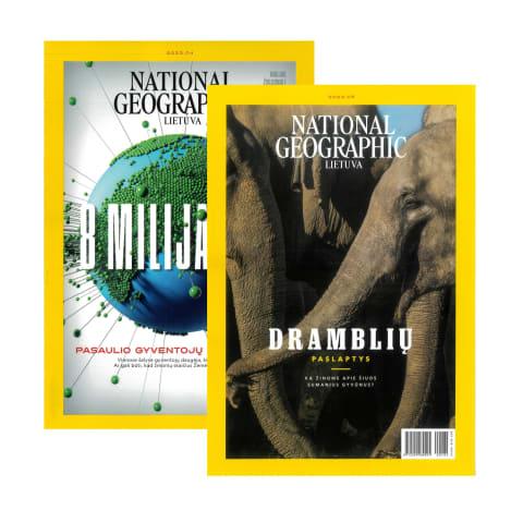 Žurnalas NATIONAL GEOGRAPHIC LIETUVA
