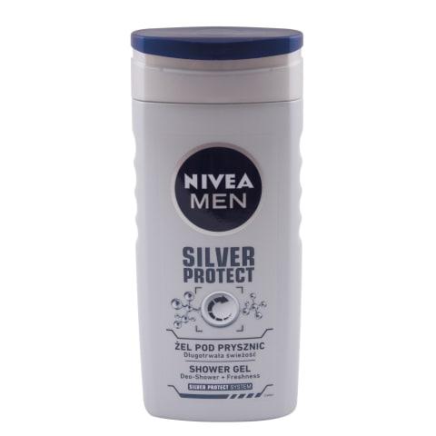 Dušas želeja Nivea Men Silver Protect 250ml