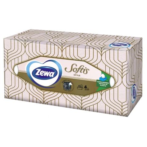 Kosmeetilised salvrätid Zewa Softis 80tk