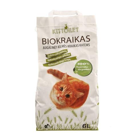 Biologinis kraikas katėms KITTOILET, 6l
