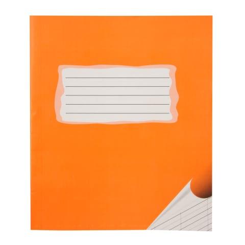 Burtnīca šķērs-šaurlīniju 12lpp oranža