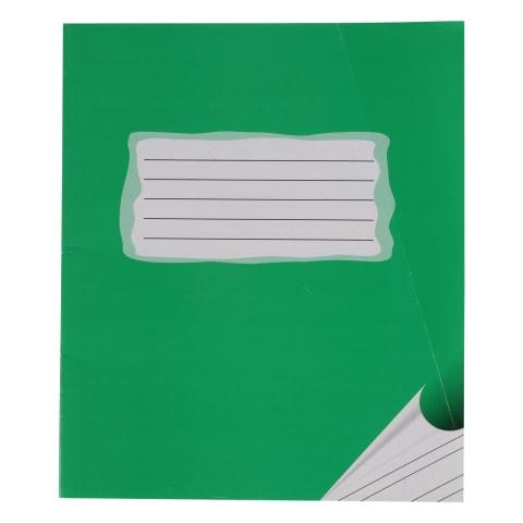 Burtnīca šaur-platlīniju 12 lpp zaļa