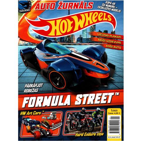 Žurnāls Hot Wheels