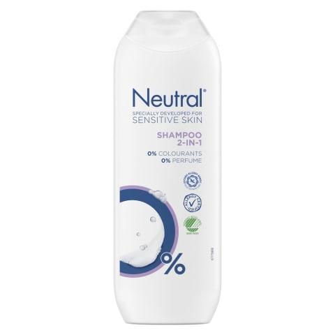 Pl.šampūnas NEUTRAL 2in1,250ml