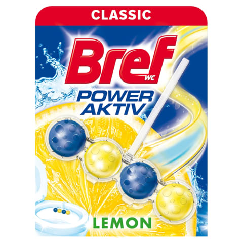 Tualetes bloks Bref Lemon Power Aktiv 50g