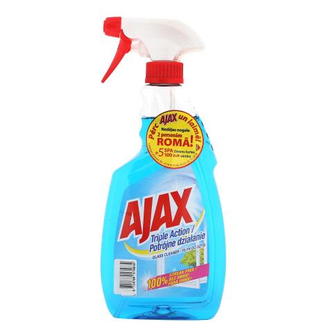 Langų valiklis AJAX TRIPLE ACTION, 500 ml