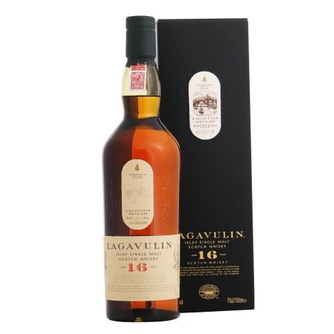 Visk.LAGAVULIN ISLAY SINGLE 16YO, 43 %, 0,7 l