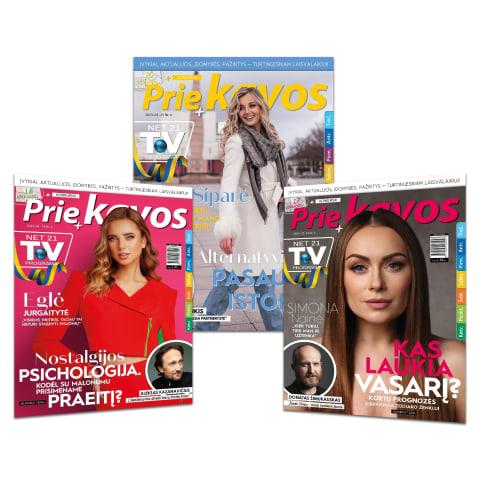 Žurnalas PRIE KAVOS