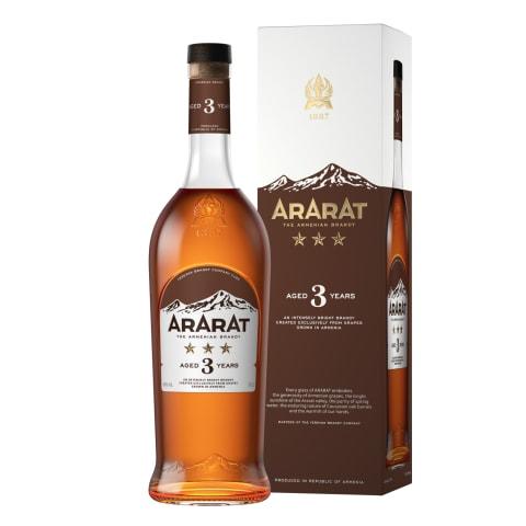 Brendijs Ararat 3* 40% 0,7l